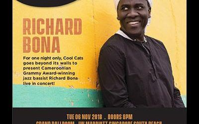 Richard Bona Concert – A Collaboration between The Foundation and Cool Cats